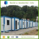 Diseño prefabricado de la casa del campo del envase del bajo costo en Nepal