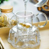 Heißer verkaufender freier Glasflaschen-/Tea-Potenziometer für Tee