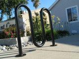 Порошковое покрытие черного цвета кривой велосипедов подставка для установки в стойку