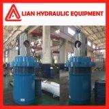 Cilindro hidráulico personalizado do petróleo da energia hidráulica para o projeto da tutela da água