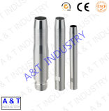 Kundenspezifische hohe Präzision Aluminium anodisierte CNC-Teil-Aluminium-Teile