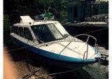 Ferryboat da cabine da fibra de vidro de Aqualand 25FT 7.6m/barco táxi da água (760)