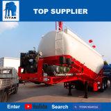 タイタンの手段-空気圧縮機が付いている55のクリンカーのセメントのトラックの大きさのセメントのトレーラーのディーゼル機関