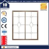 Wohnrahmen unverständliches GlasHonrizontal, das Aluminiumfenster schiebt