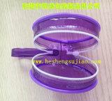 Sac cosmétique PVC transparent de haute qualité pour le rapport sans phtalate de maquillage