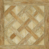 Construção da porcelana do teste padrão do parquet do olhar e telha de madeira autênticas rústicas da decoração