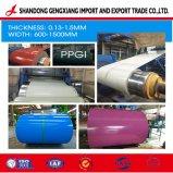 Usine PPGI PPGL prépeint de couleur bleue pour la construction de tôle en acier