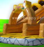 팽창식 Shoes Shape Two Lanes Slide Can는 Kids를 위한 Customized있다