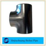 La instalación de tuberías de A234 Wpb Sch40 inconsútil sea te recta soldada Btt