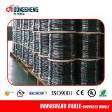 Câble coaxial RG6 Rg59 Rg11 PTFE pour câble CCTV / CATV