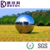 Acero inoxidable 304 decorativos del jardín que mira la bola