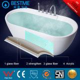 La autolimpieza Superficie sólida de 0,9 m 1m bañera para niños bt2591-Y.