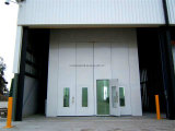 Cabina de aerosol auto industrial/cabina de la pintura del coche/sitio de la hornada