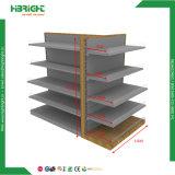 Estrutura de madeira pesada Supermaket Prateleiras gôndola