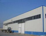 Struttura di costruzione prefabbricata di vendita dell'indicatore luminoso della struttura d'acciaio del gruppo di lavoro caldo del magazzino