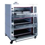 De commerciële Dubbele Oven van de Bakkerij van het Gas van het Dek voor Verkoop