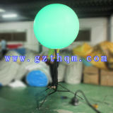 1.5m膨脹可能なLEDの軽い地上の気球か新式のLEDの軽く膨脹可能な気球