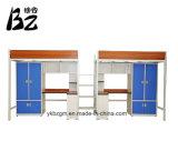Studien-Kursteilnehmer-Bett mit Bücherschrank (BZ-0143)