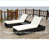 Outdoor Rattan Chaise Lounge, Lounge Chair