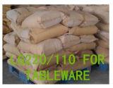 Het Poeder LG220 van de Verglazing van de melamine aan Galzing voor het Vaatwerk en het keukengerei dat van de Melamine wordt gebruikt