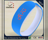 Relógio novo do bracelete do diodo emissor de luz do Wristband de Digitas do silicone do OEM (DC-1119)