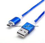 Cabo do carregador USB para dispositivos Android com a função de sincronização de data