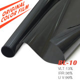 Pellicola della finestra tinta automobile dell'animale domestico del nero di rifiuto di alto calore