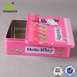 4L Embossed Printed Food Grade Candy Cookie Metal Box
