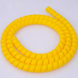 A luva protetora espiral hidráulicos de plástico para os cabos de aterramento de avião