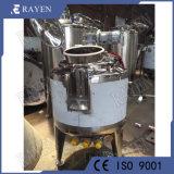 Les mesures sanitaires remué réacteur cuve sous pression du réservoir en acier inoxydable