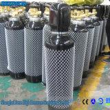 弁および調整装置が付いている2L 3L 5Lの溶接の酸素ボンベ