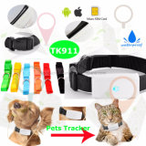Waterdichte Mini/Uiterst kleine GPS van Huisdieren Drijver met Multifunctionele Tk911