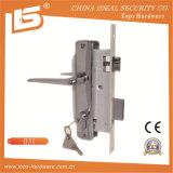 アルミニウムハンドルの鉄の版のほぞ穴Lockset (031)