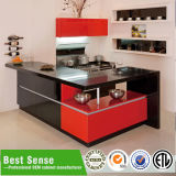 Guangzhou Modular Aluminium Glas-Küche-Kabinett