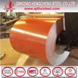 Le zinc coloré de Chaud-Vente de bobine en acier de PPGI a enduit la bobine en acier