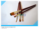 5PCS Colorful Wooden Handle Artist Brush in pvc Bag voor Painting en Drawing