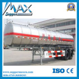China 3 Ejes 50cbm combustible / cisterna de petróleo Semirremolque / Remolque Cisterna