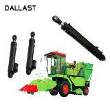 Média pressão do cilindro hidráulico de dupla ação para caminhões agrícolas