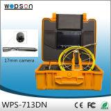 小さいカメラヘッドが付いている地下水の管の検出システム
