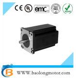 Motor de pasos del paso de progresión eléctrico trifásico del escalonamiento de NEMA24 24HT8346 para la máquina del CNC