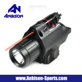 Vista tattica del laser di colore rosso e torcia elettrica del LED per la guida di Picatinny