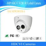 Camera van kabeltelevisie van de Oogappel van Hdcvi WDR IRL van Dahua de Waterdichte 4MP (hac-hdw2401em-a)