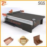 Máquina disponible de la fabricación de cajas del alimento del papel de Brown del papel de Kraft con el automóvil que introduce 2516