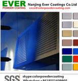 Pulverización electrostática epoxi poliéster mate liso color RAL, revestimiento de polvo para el aparejo de la tienda