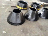 Le broyeur de cône de Symons partie concave et le manteau