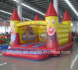 Rebondissement drôle gonflable de clown pour des gosses