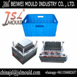 StorageのためのカスタマイズされたInjection Plastic Crate Bin Mould
