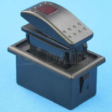 Road Carling Marine Rocker Switch 떨어져 12V Waterproof