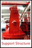 8t 10t elektrische steife Hochkonjunktur-Marineuntersatz-Kran