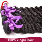 A melhor tecelagem profunda Mongolian do cabelo humano da onda da venda 100%